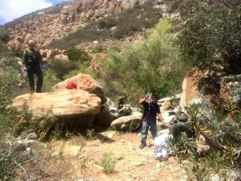 USBP BORSTAR agents responded to a call for help when a woman in Copper Canyon fell and hit her head