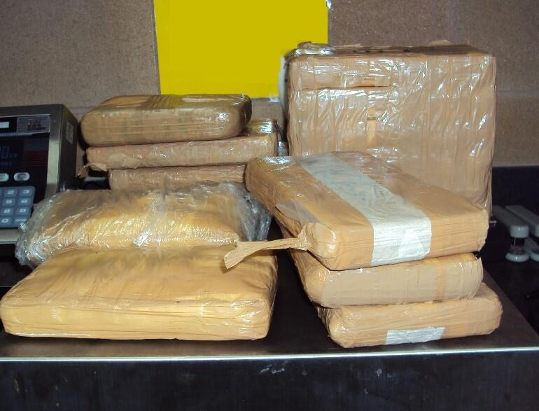 Agents seize nearly 35 lbs. of the dangerous fentanyl drug.