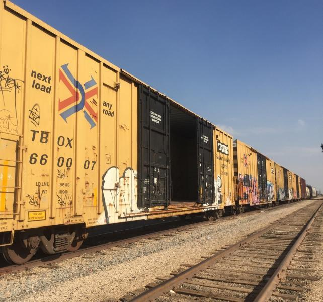 Six men were pulled from this box car.