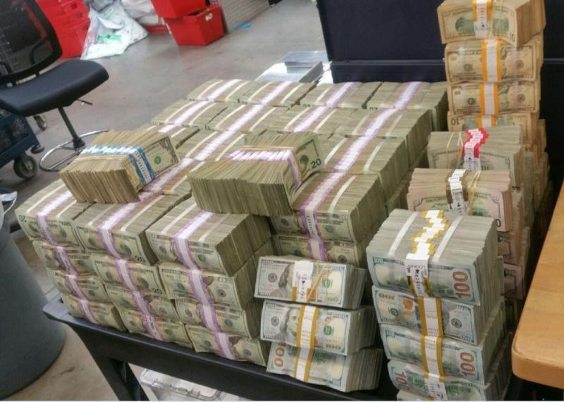 $3M in illicit currency seized by agents