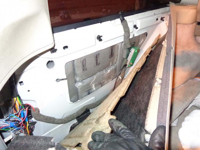 Almost a half a million dollars in cocaine was hidden inside various locations of a Volvo behind the vehicle's rocker panels