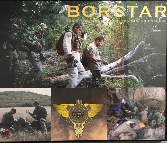 BORSTAR is the U.S. Border Patrol's (USBP) premiere search and rescue team
