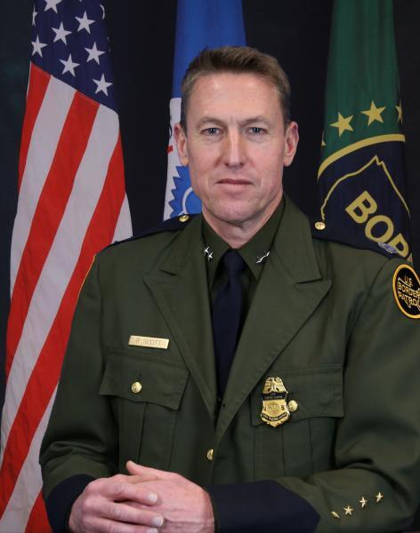 Rodney S. Scott, Chief Patrol Agent of El Centro Sector.