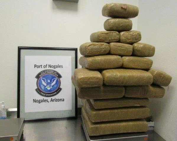 Officers were led to discover marijuana throughout a smuggling vehicle