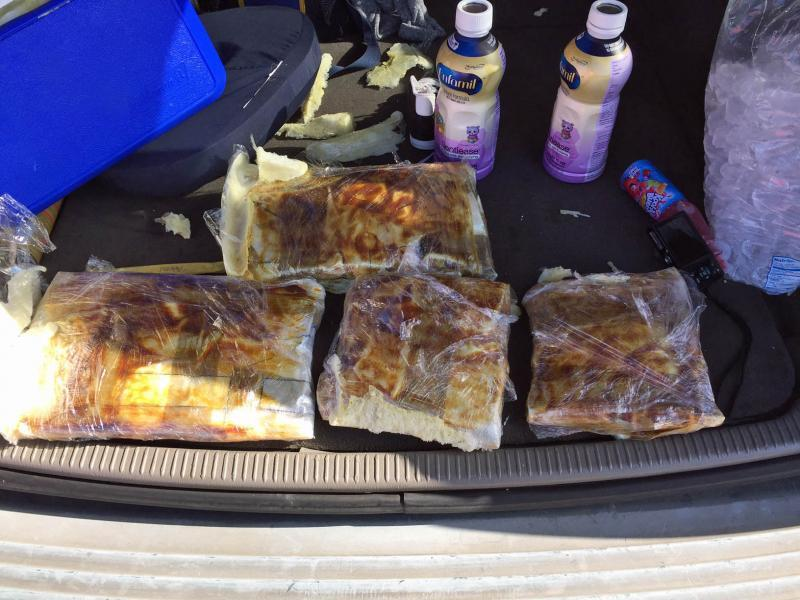 Agents and deputies conducted a joint operation that resulted in the seizure of 7.5 pounds of heroin