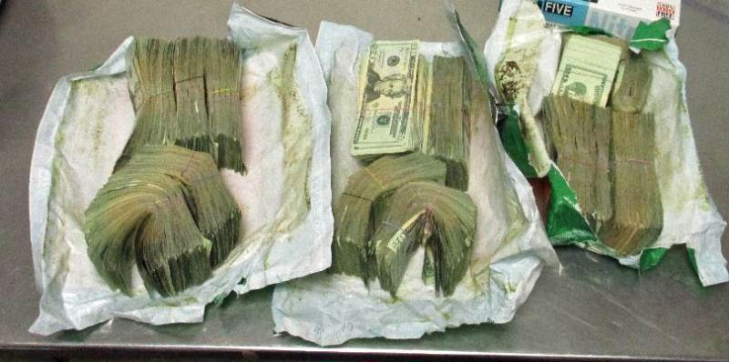 Officers from the Port of Lukeville seized nearly $70K in unreported currency from within a smuggling vehicle