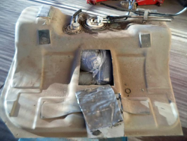 CBP officers discovered more than 36 pounds of meth within the gas tank of a smuggling vehicle