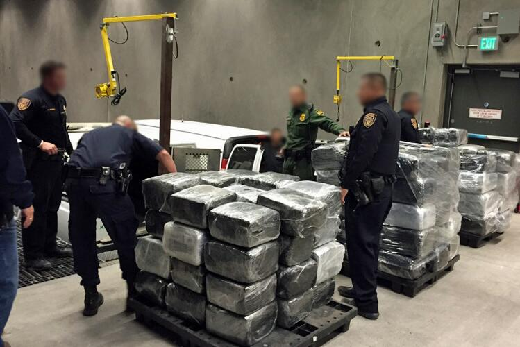 More than two tons of marijuana are discovered by agents and officers from the Nogales Police Department, while they were investigating a local warehouse.