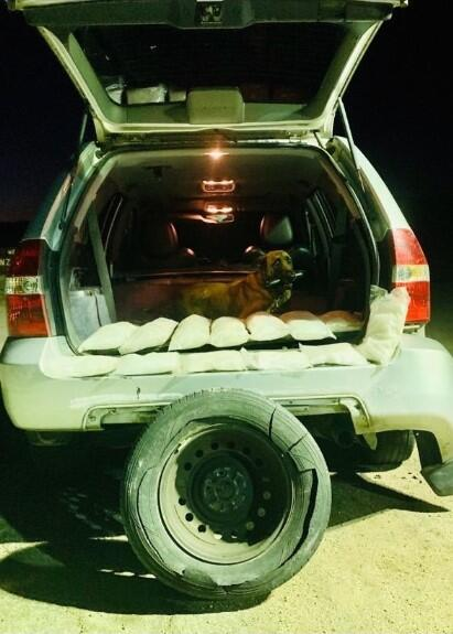 El Centro Sector Border Patrol Agents Seize 43.62 Pounds of Methamphetamine