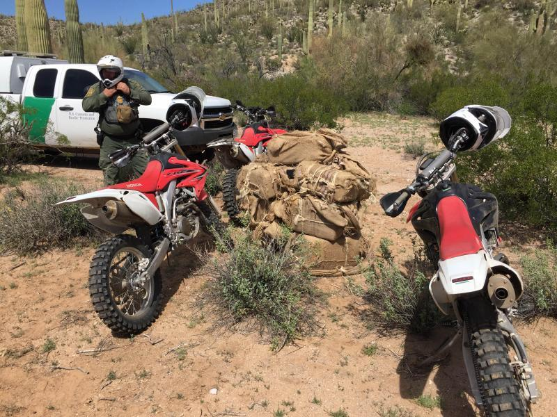 Agents from the Casa Grande Station seized more than 300 pounds of marijuana on the Tohono O'odham Nation