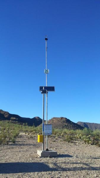 Border Patrol Rescue Beacon, which is set up to bring personnel to the rescue of migrants in distress