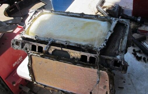 When CBP officers at the Port of San Luis removed the Valve cover of a smuggling vehicle, they discovered more than 10 pounds of meth