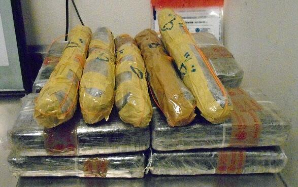 Officers at the DeConcini crossing seized a combination of $308K worth of cocaine and meth
