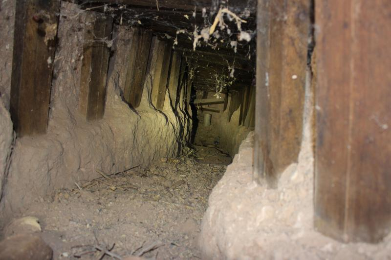 Border Patrol agents in Douglas, Ariz. discovered a collapsed illicit tunnel after a city employee reported a suspicious location near the RHC Port of Entry