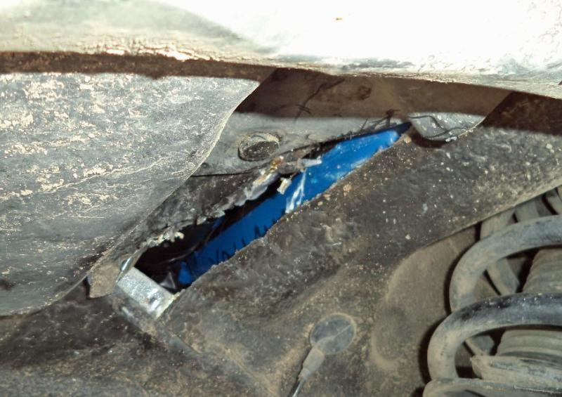 CBP officers at the Port of Nogales located and seized nearly 40 pounds of heroin within the firewall of a smuggling vehicle