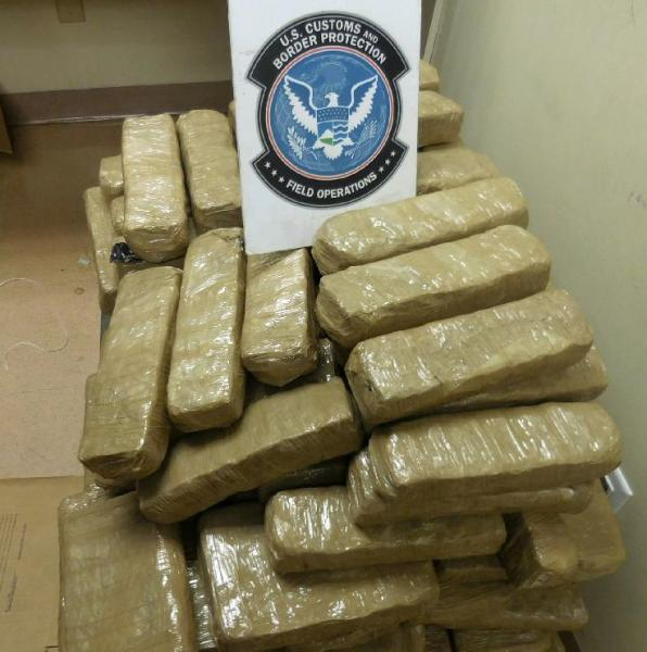 CBP officers from the Port of Douglas recovered nearly 110 pounds of marijuana from the rocker panels of a smuggling vehicle