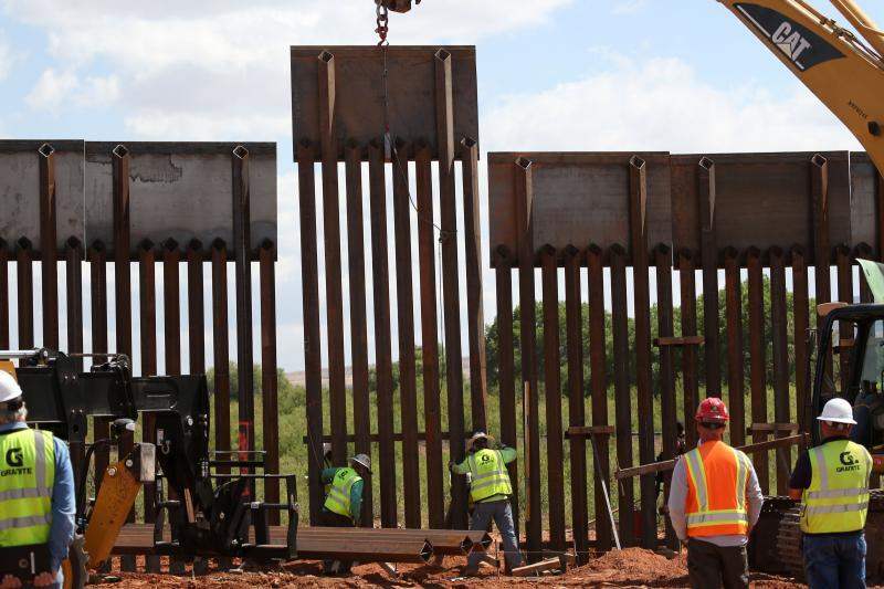 Final Border Fence Panel Installed in Naco | U S  Customs