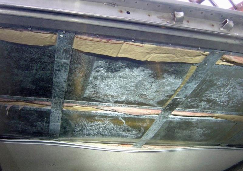 CBP officers at the Mariposa Commercial Facility discovered more than 200 packages of marijuana within the roof of a trailer