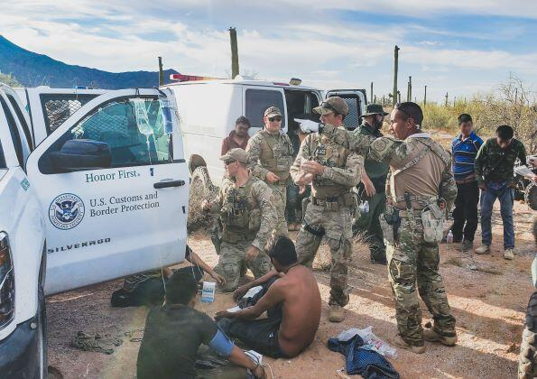 Agents rescued 26 migrants who were stranded south of Gila Bend