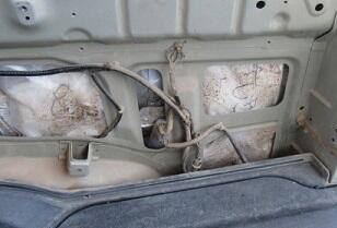Nearly 71 pounds of meth was seized from a smuggling vehicle