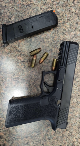 Yuma Sector agents seized a loaded firearm at the California immigration checkpoint