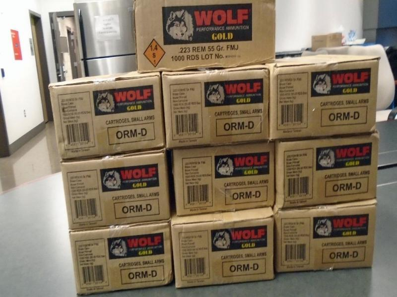CBP officers at the Nogales West Mariposa crossing discovered and seized 10,000 rounds of tactical ammunition from a Nogales, Ariz. woman before she could proceed southbound into Mexico.
