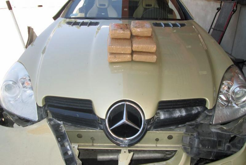 CBP officers at the Port of Lukeville seized nearly 13 pounds of cocaine over the weekend that was hidden within a smuggling vehicle.