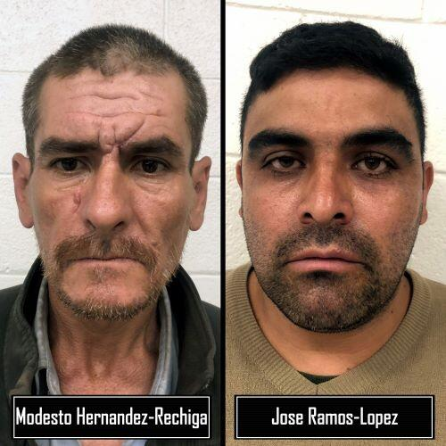 Yuma Sector agents arrested two Aggravated Felons over the weekend