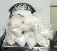Approximately $80k of meth was removed from the gas tank of a smuggling vehicle, by CBP officers at the Port of San Luis