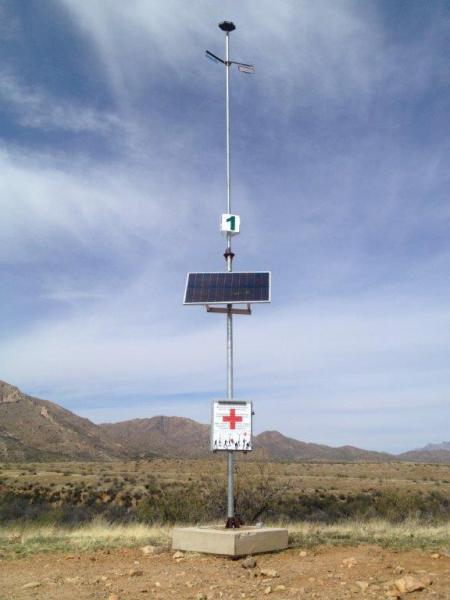 Tucson Sector rescue beacon that has been installed within southern Arizona.