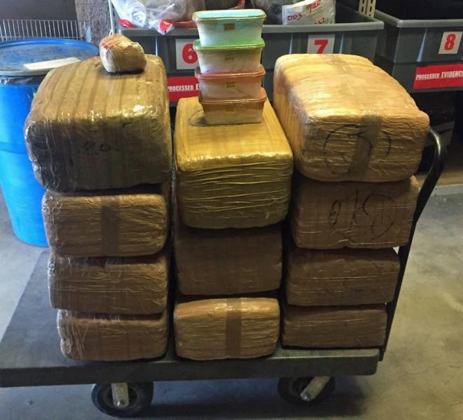 Border Patrol agents from the Tucson Sector seized a variety of drugs during the past week. The drugs are worth more than $300,000