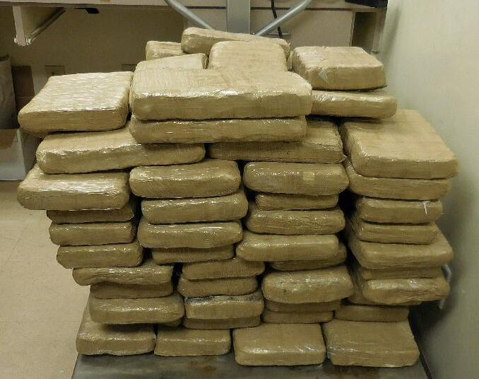 Officers at the Port of Douglas seized nearly 300 pounds of marijuana throughout a smuggling vehicle, when they referred a 16-year-old male for further inspection of his Ford truck