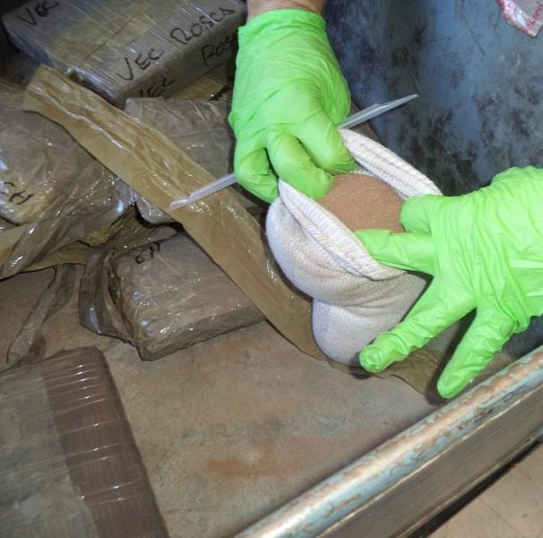 CBP officers at the DeConcini crossing seized $248,000 worth of cocaine and meth from inside of a smuggling vehicle.