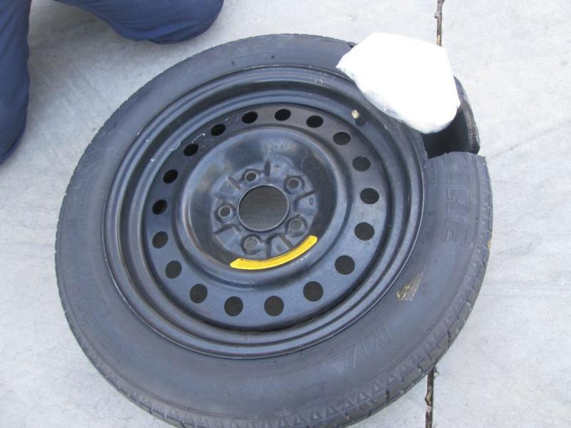 CBP officers located and removed 11 pounds of meth from the spare tire of a smuggling vehicle attempting to cross through the Port of Lukeville.