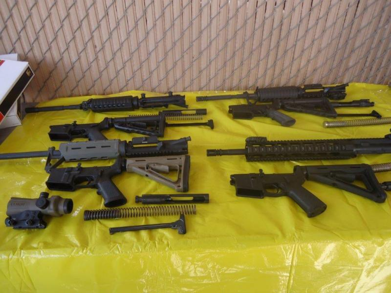 Multiple weapons were seized on Monday, along with ammunition and ammo cartridges by CBP officers assigned to the Port of Douglas, Ariz.