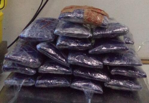 More than $53,000 worth of meth is seized by CBP officers in Nogales, Ariz.