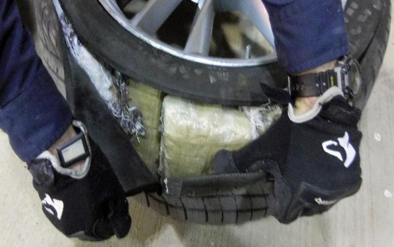 CBP officers at the Port of Douglas located and seized nealry 260 pounds of marijuana from within a Nissan sedan