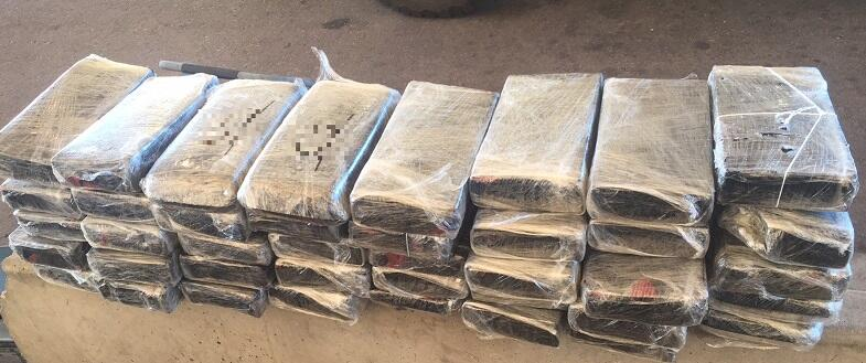 Agents seized meth from within a vehicle stopped at the I-19 immigration checkpoint