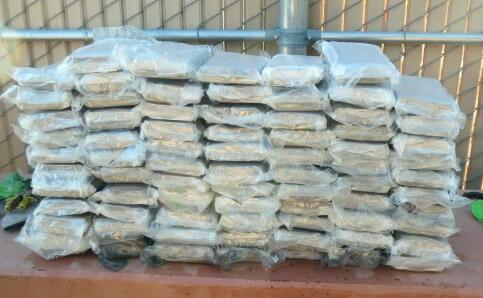 Photo of marijuana seized by CBP officers at the Port of Lukeville on Sunday, Nov. 8