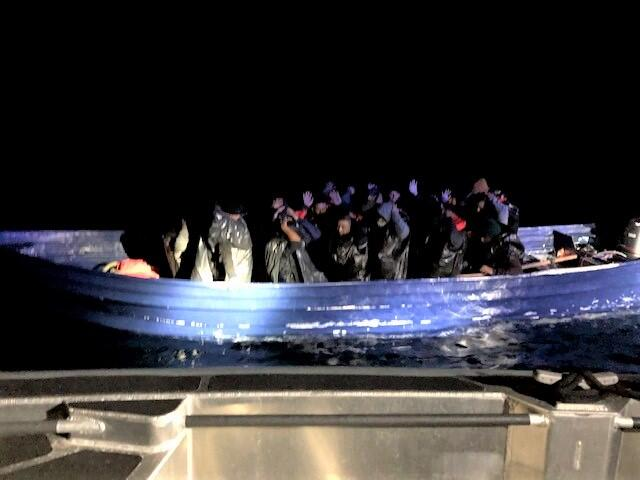 Crews from CBP Air and Marine Operations rescued 23 illegal aliens off the coast near Point Loma, Calif.