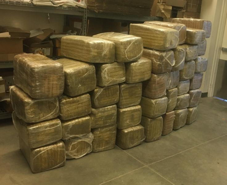 Agents from the Ajo Statoin arrested 19 smugglers and over 920 pounds of marijuana