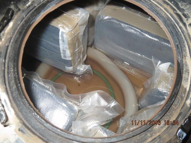An alert by a CBP narcotics detection canine led officers to the discovery of more than 78 pounds of marijuana inside of the fuel tank of a smuggling vehicle