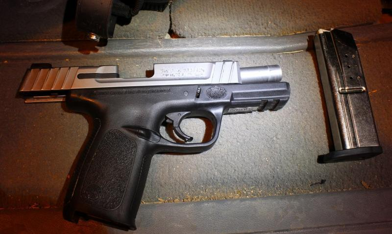 Agents discovered a 9mm pistol and ammo when stopping a vehicle near Gila Bend for immigration inspection
