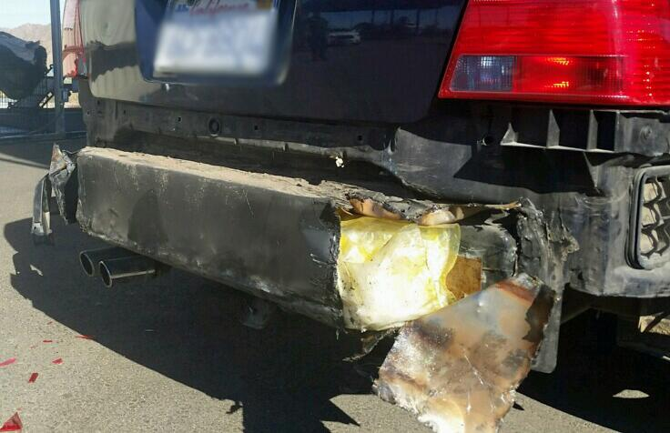 Border Patrol agents from the Wellton station discovered 14 pounds of meth within the rear bumper of a smuggling vehicle