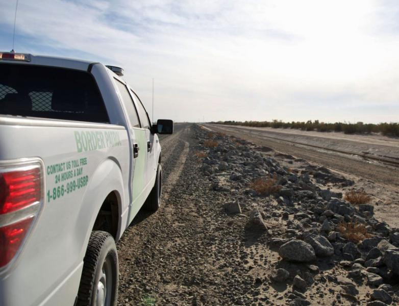 Yuma agents rescued five illegal aliens from the salinity canal near San Luis, Ariz.