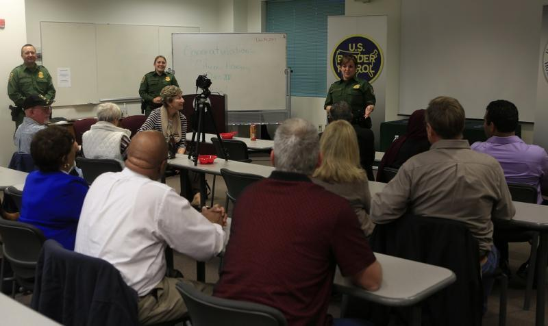 Tucson Station graduated 13 participants of their 14th Citizen's Academy