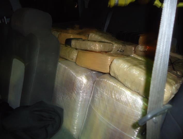 TUCSON, Ariz. – Customs and Border Protection officers at the Raul Hector Castro Port of Entry in Douglas, Arizona, prevented a 29-year-old Douglas woman from smuggling more than 700 pounds of marijuana into the United States on Wednesday night.