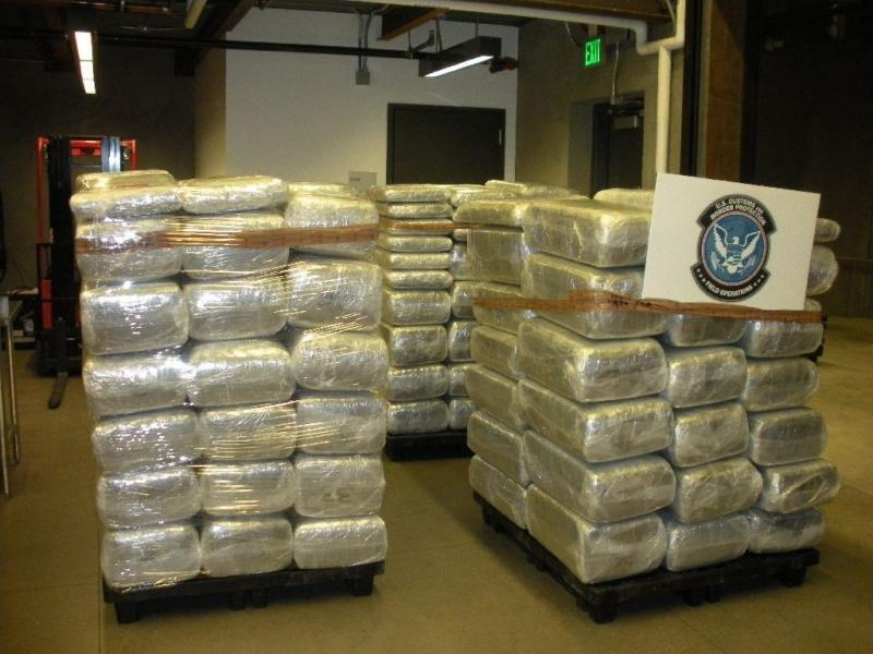 CBP officers seized nearly 1.5 tons of marijuana worth an estimated $1.47m from a tractor-trailer at the Port of Nogales' Mariposa crossing.