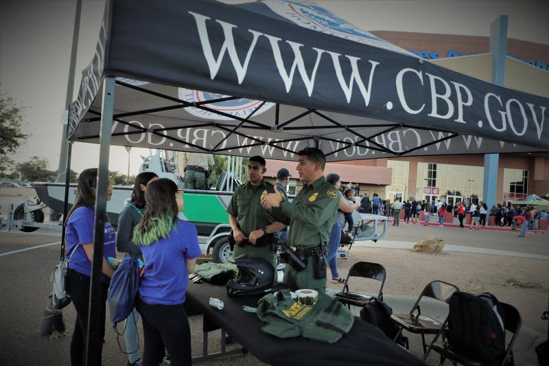 national night out with border patrol in Laredo