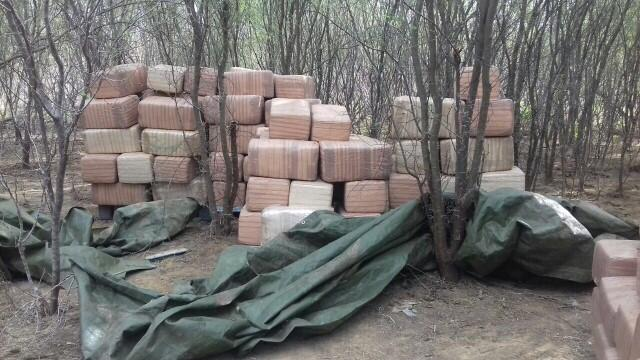 bundles of marijuana seized from the Zapata station on December 1, 2016
